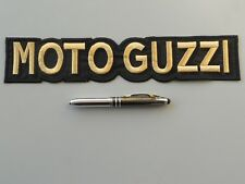 MOTO GUZZI ORO TOPPA PATCH RICAMATA TERMODESIVA CM 29,5X6