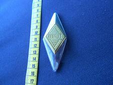 Renault : Emblem auf Chromspange  :  Vintage, Oldtimer