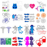 Metal Cutting Dies Stencil for DIY Scrapbooking Embossing Album Card Craft Decro