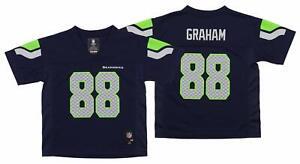 Outerstuff NFL Kids Seattle Seahawks Jimmy Graham #88 Mid-Tier Jersey