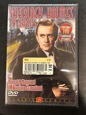Sherlock Holmes, Volume 2 - Tv Classics - DVD - Multiple Formats Black & NEW
