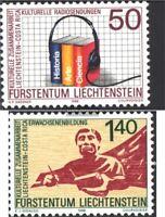 Liechtenstein 945-946 (kompl.Ausg.) postfrisch 1988 Europäische Kampagne