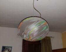 CHANDELIER BALL MURANO SHADED MURRINE  GLASS. 1970