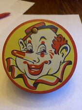 Vintage Kirchhof Tin Toy Noise Maker Clown