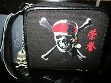 More details for disney store pirates of the caribbean purse black brand new very rare