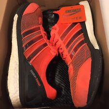 Adidas Adizero Boston Boost 5 M Solar Red Black Running Sneakers Mens sz 10