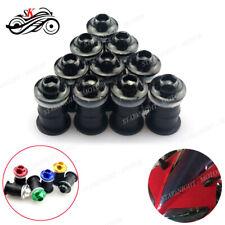 Motor Windshield Bolt Screw Fastener Kit For Yamaha YZF R125 R25 R3 R6 1000R R1