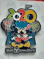 New ListingDisney World Parks 2020 Mickey Minnie Cinderella's Castle Fireworks Pin - New
