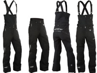 Motorfist Women's Contessa Snowmobile Bib Pants Bottoms Waterproof XL Short