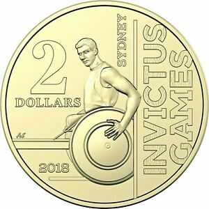 2018 $2 Coin Celebrating The Invictus Games From RAM Roll ** UNCIRCULATED **