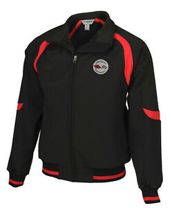 1953-1962 Mens Corvette Fast Lane Classic Jacket with Embroidered C1 Logo 620271
