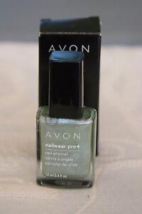 Avon Nailwear Pro+ Nail Enamel ~Chilling Teal~ Color Teal Glitter