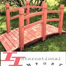 PONT de jardin en Bois NEUF198€! ETANG Fontaine meuble decoration deco terrasse!