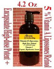 *5%Vitamin A Liposomes/Retinol + E,Encapsulated,High-dose Hyaluronic Serum 4.2oz
