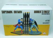DC Direct Batman Superman World's Finest Bookends 108/500