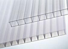 LASTRA IN POLICARBONATO ALVEOLARE cm. 210x100 copertura parete trasparente