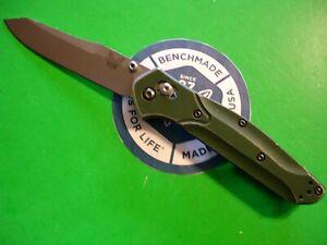 """NTSA BENCHMADE USA """"940 OSBORNE"""" 4 1/2"""" CLOSED AXIS LOCK POCKET KNIFE"""