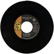 """Al Wilson """"mostrar y decir"""" tan emotiva años 70 Beat balada! escucha!"""
