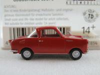 Brekina 27854 Goggomobil Coupé TS 250 (1957-1969) in dunkelrot 1:87/H0 NEU/OVP