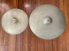 """Vintage Zyn Combo x 2 - 20"""" Cymbal, 2 Star 15"""" Cymbal -  Ideal For Jazz"""