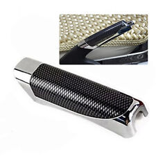 Universal Car Carbon Fiber Style E Hand Brake Protector Black Decoration Cover
