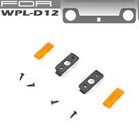 Simulation LED Side Light Lamp Kit DIY for WPL D12 Pick-up RC Car Military Truck