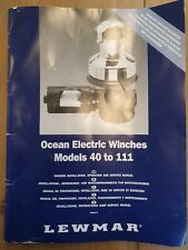 Lewmar 48ST Ocean Electric winch