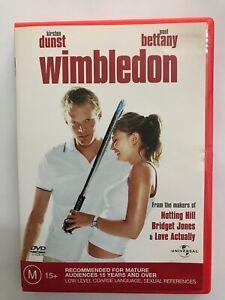 Wimbledon (2004, Region 4 DVD, Kirsten Dunst, Paul Bettany)