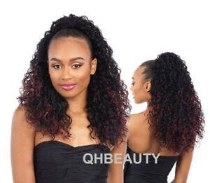 RAGE GIRL - FREETRESS EQUAL SYNTHETIC DRAWSTRING LONG CURLY HAIR PONYTAIL
