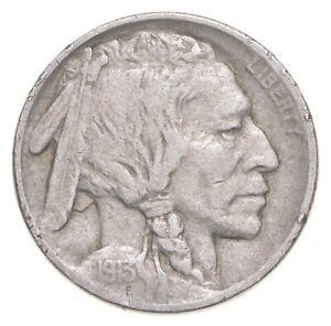 Better - 1913 Indian Head Buffalo Nickel *726