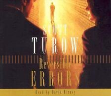 Reversible Errors by Scott Turow (2005, CD, Abridged)