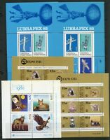PORTUGAL LOT OF 27 SOUVENIR SHEETS MINT NEVER HINGED