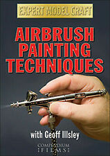 AIRBRUSH PAINTING TECHNIQUES USED - VERY GOOD REGION 2 DVD
