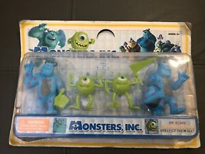 Monsters Inc We Scare Because We Care Figures