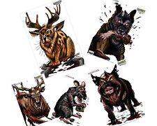 "Birchwood Casey, 5 Darkotic 12""x18"" Animal Splatter Targets"