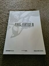 Final Fantasy III Nintendo DS Official Strategy Guide by Future Press 3