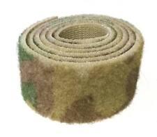 1m Cinta cierre coser 100mm marrón pincho fijación agarre textil equipo militar