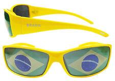 Flaggenbrille BRASILIEN SideKick Brasil Brille Fahne WM EM Fanartikel Flagge