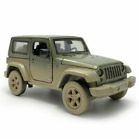 1:32 Jeep Wrangler Off-road SUV Model Car Diecast Toy Vehicle Pull Back Sound