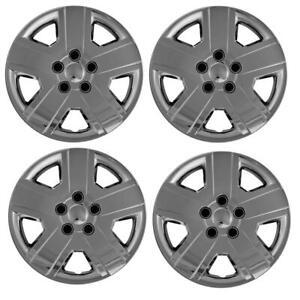 "2008-2010 Dodge Avenger Style # 438-16C 16"" CHROME Hubcaps / Wheel Covers SET/4"