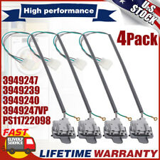 4 Pack Washer Lid Switch for Whirlpool Kenmore Washing Machine 3949247 3949239