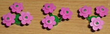 Lego City 3 Blumen in dunkel rosa