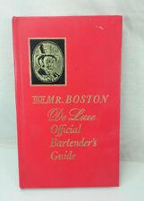 1967 Old Mr Boston Deluxe Original Bartender'S Guide Hardback Book 149 Pages