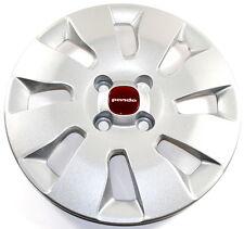 "Fiat Panda 14"" Wheel Trim Red Badge Centre Single x1 New + Genuine 735553848"