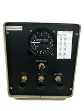 Pitot Static Test Set Breakout Box United Instruments 7060 VSI Reference Only