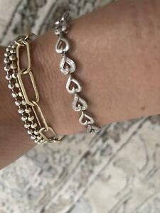 Kay Jewelers heart diamond bracelet