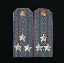 Shoulder Boards. Ukraine. Police Colonel. Senior officer personnel