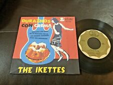 THE IKETTES Peaches 'N Cream +3 GIRL GROUP R&B SOUL 1965 MEXICO EP Tina Turner