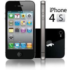 Apple iPhone 4S Locked Smartphone A1387 8GB/16GB/32GB Cracked Digitizer/Front