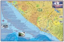 Orange County Surfing Map Poster